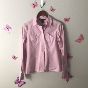Pink Marc Jacobs button down